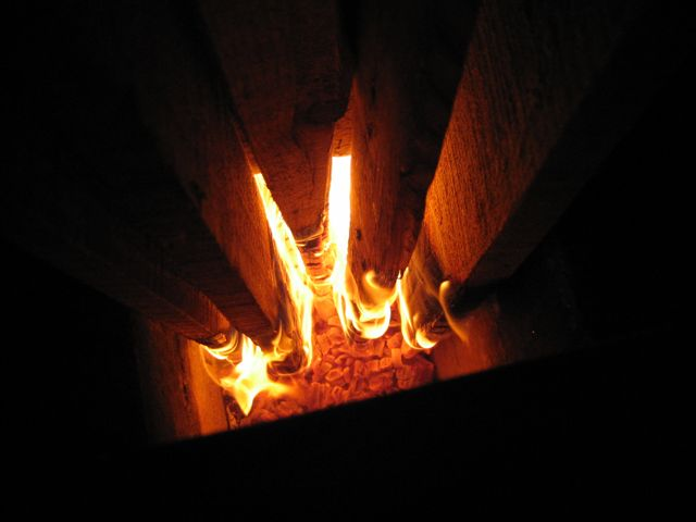 Rocket stove - Combustion