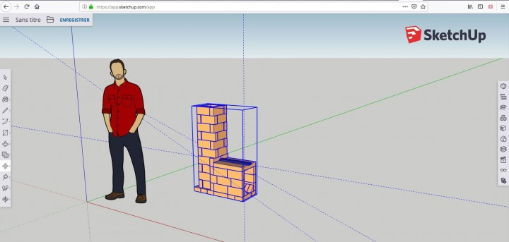 Sketchup version en ligne