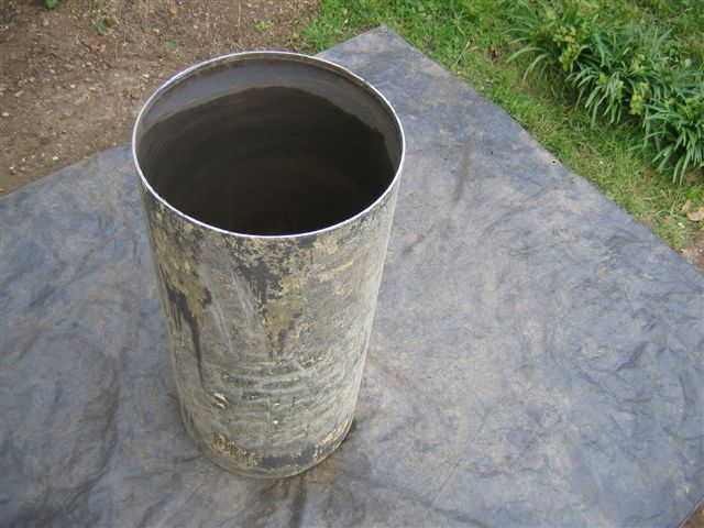 Rocket stove - Container isolation